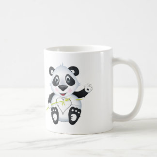 'Little Baby Love Seal' Panda Character Mug