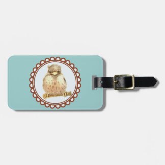 Little Baby Robin Luggage Tag