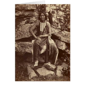 Little Bear, Cheyenne, 1875 Card