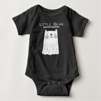 Little Bear Forest Animals Baby Bodysuit