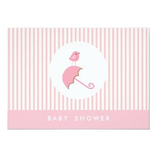 {little bird}  baby shower invitation