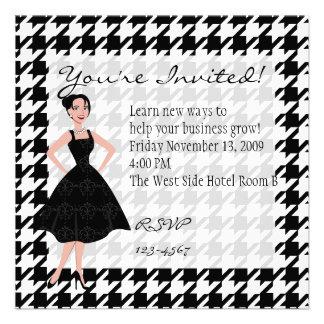 little black dress announcement