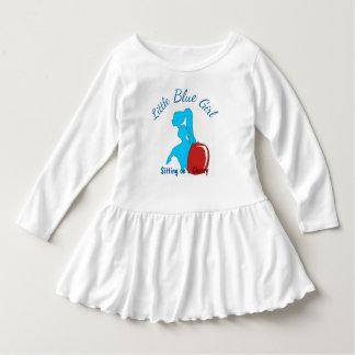 Little Blue Girl Dress