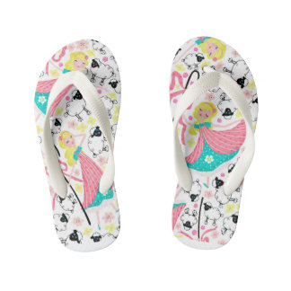 Little Bo Peep Summer Sandals Thongs