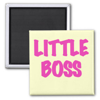 Little Boss - Pink Tshirts and Gifts Magnets