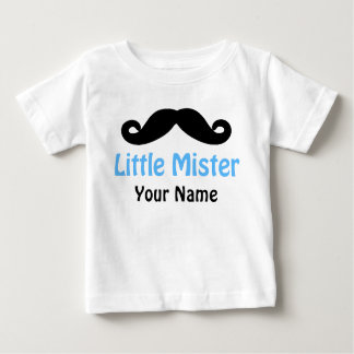 Little Brother Mustache Personalized T-shirt