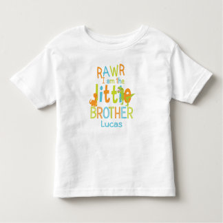 Little Brother Shirt | Dinosaur Shirt