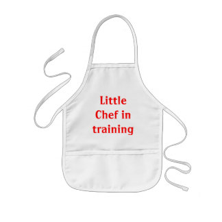 Little Chef in Training Kids Apron