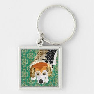 Little Chloe (Beagle) Art Keychain