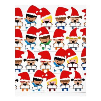 Little Christmas Carolers 21.5 Cm X 28 Cm Flyer
