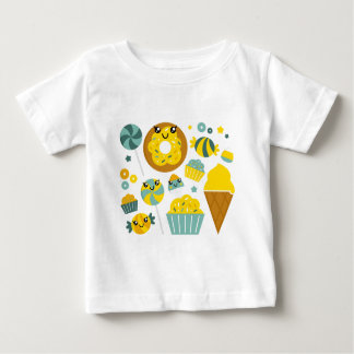 LITTLE CUTE MANGA YELLOW BABY T-Shirt