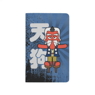 Little Daitengu Yokai Grunge Journal