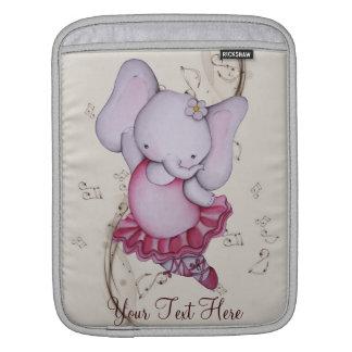 Little Dancing Ballerina Elephant iPad Sleeve