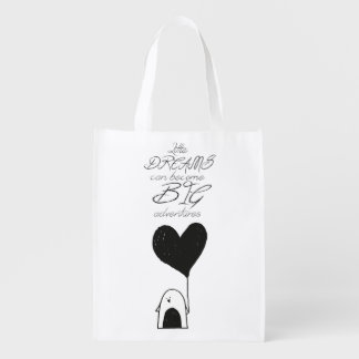 Little Dreams Can Become Big Adventures Bag