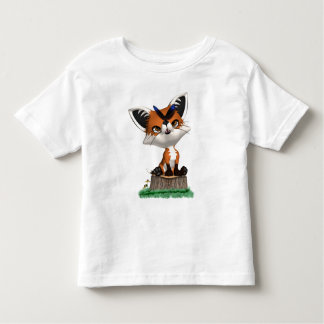 Little Fox And Butterfly T Shirt  Children & Baby