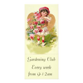 little gardener 10 cm x 23 cm rack card