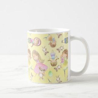 Little Girl, Dizzy Dreams Classic White Mug