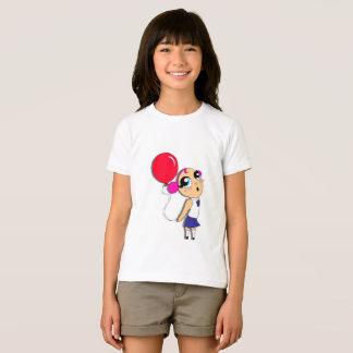 Little Girl With A Balloon T-Shirt