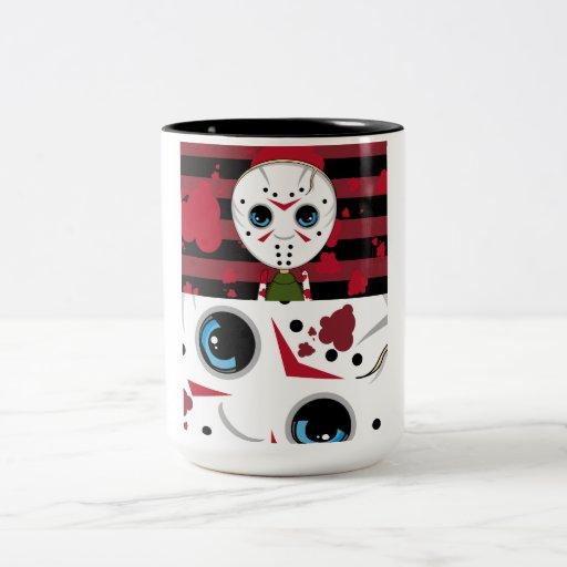 LIttle Halloween Serial Killer Coffee Cup Coffee Mug