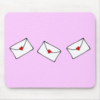 Little Love Letter Mouse Pad