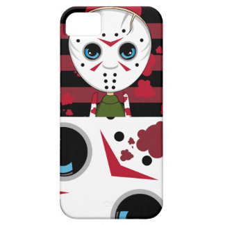 Little Masked Killer Halloween iphone Case Barely There iPhone 5 Case