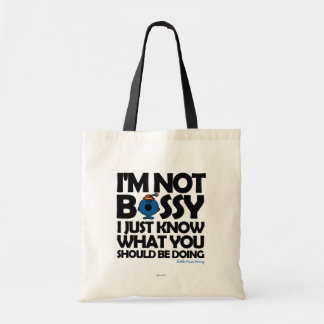 Little Miss Bossy Just Knows Tote Bag