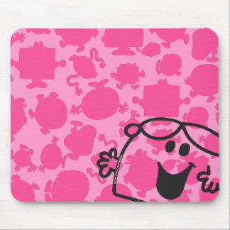 Little Miss Chatterbox Mouse Pad