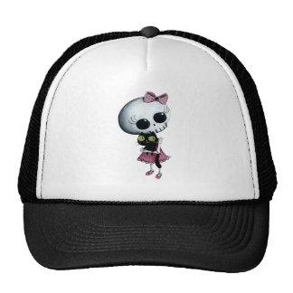 Little Miss Death - Halloween Beauty Trucker Hat