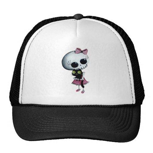 Little Miss Death - Hallowen Beauty Trucker Hat