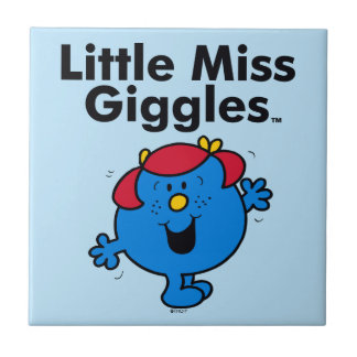 Little Miss | Little Miss Giggles Likes To Laugh Tile