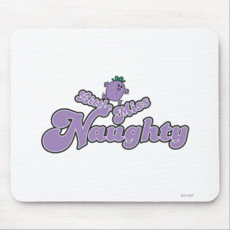 Little Miss Naughty Balancing Act Mouse Pad