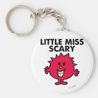 Little Miss Scary | Black Lettering Key Ring