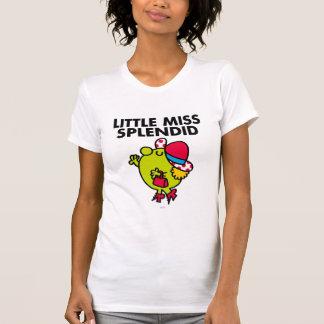 Little Miss Splendid | Black Lettering Tee Shirts
