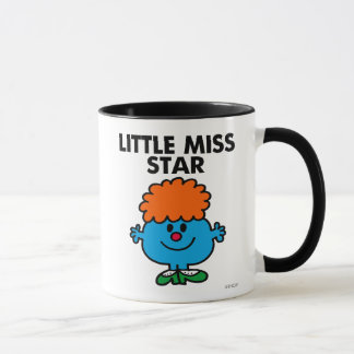 Little Miss Star | Black Lettering Mug