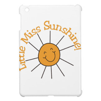 Little Miss Sunshine Cover For The iPad Mini