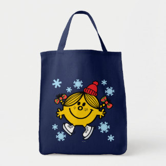 Little Miss Sunshine Ice Skating Tote Bag