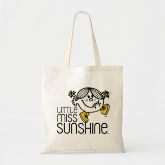 Little Miss Sunshine Walking On Name Graphic Tote Bag