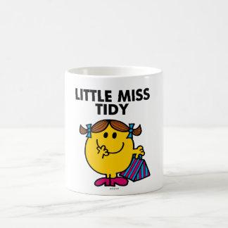 Little Miss Tidy | Black Lettering Basic White Mug