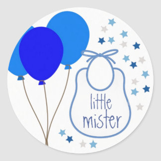 Little Mister (It's a Boy) Sticker