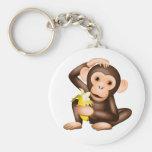 Little monkey keychains