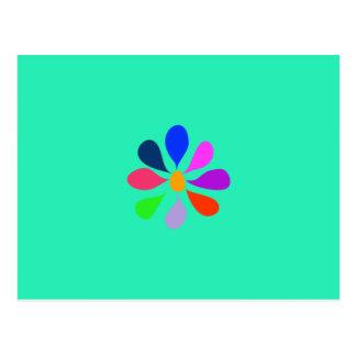 Little Morning Flower Post Card