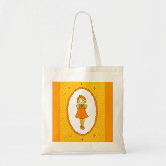 Little Orange Fruit Girl Bag