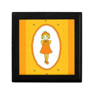 Little Orange Fruit Girl Gift Box