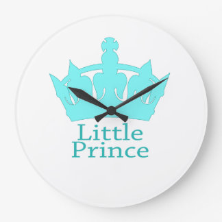 Little Prince - A Royal Baby Nursery Clocks