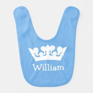 Little Prince Baby Blue Bib