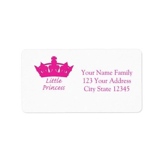 Little Princess - A Royal Baby Label