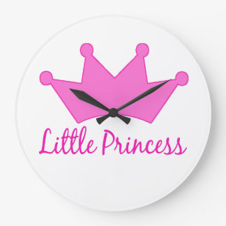 Little Princess - A Royal Baby Nursery Clock