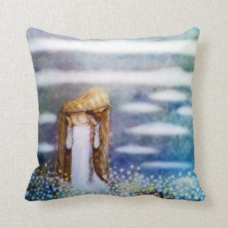 Little Princess Cottongrass Throw Cushions