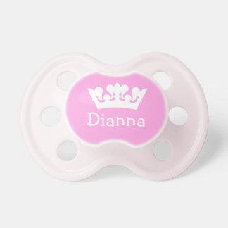 Little Princess Pink Custom Pacifier