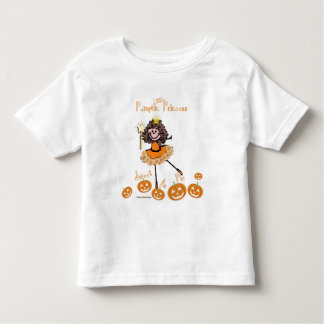 Little Pumpkin Princess - Sweet as Pie Toddler T-Shirt